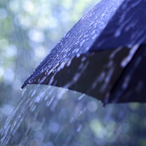 brighten your home with umbrellas
