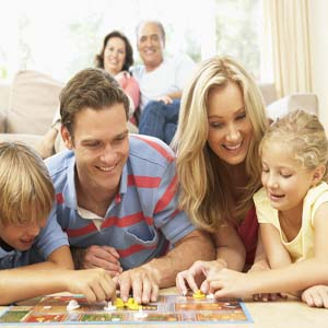 playing games in your home