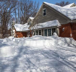 snow near your home